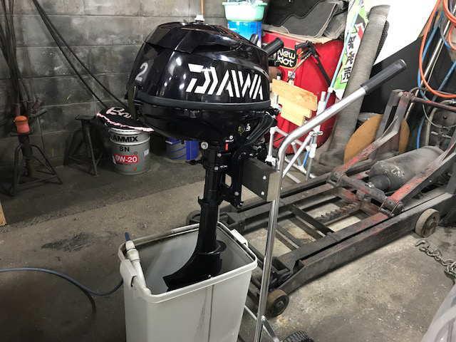 トーハツ2馬力メンテナンス